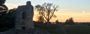 cropped sunrise over castle header image